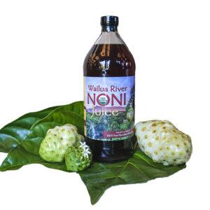 Wailua River Noni Juice, single quart