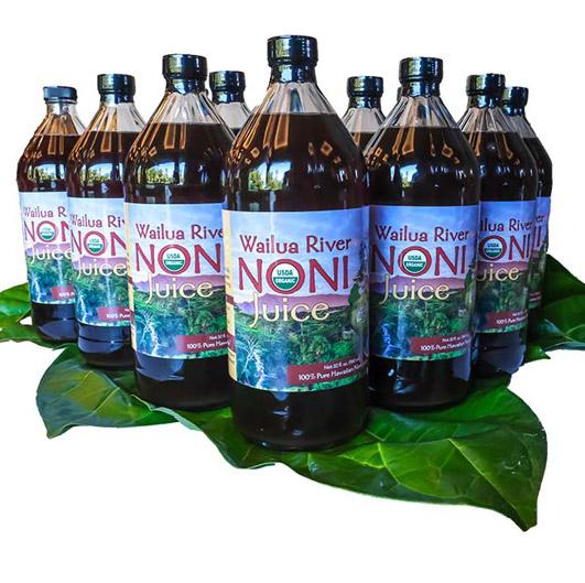 Wailua River Noni Juice - dozen quarts